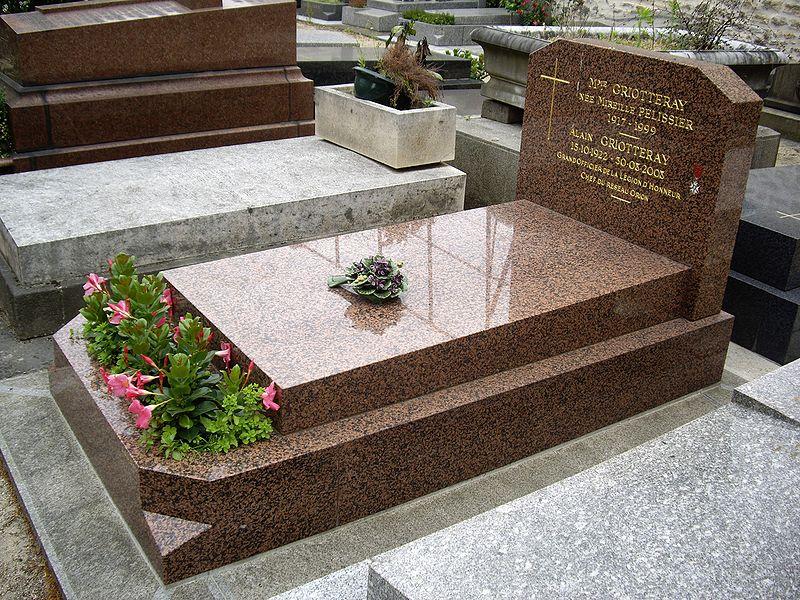 cimetière tombe