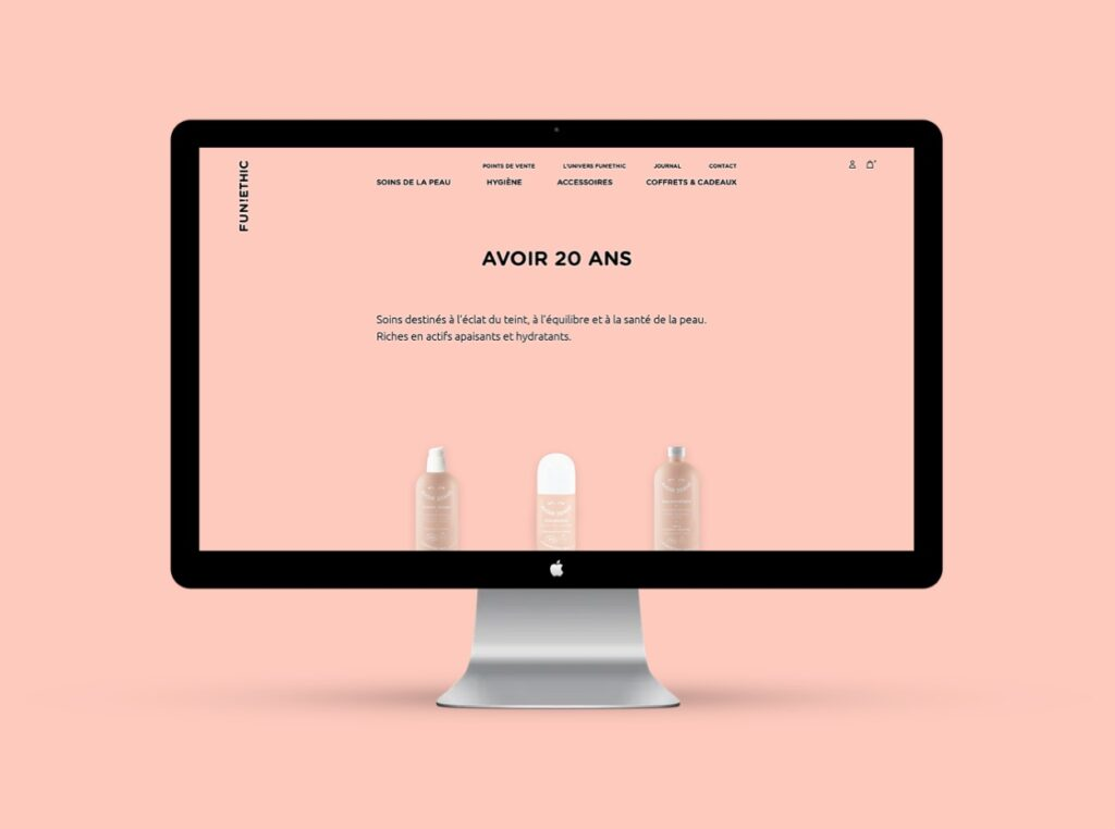 Communication-Site-Internet-cosmetiques-Fun-Ethic